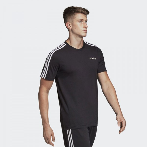 Adidas Essentials 3-Stripes Tee (DQ3113) Мъжка Тениска
