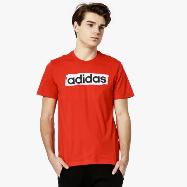 Adidas E Lin Brush Tee (DV3053) Мъжка Тениска
