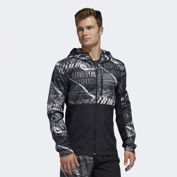 Adidas Own The Run Graphic Jacket (ED9284)