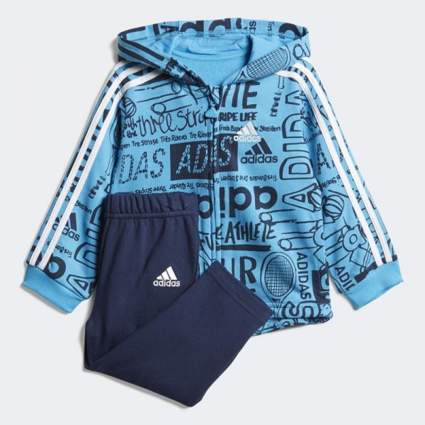 Adidas Graphic Fleece Jogger Set (DV1246)