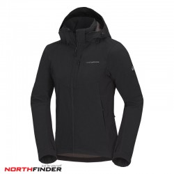 NORTHFINDER Мъжко Ски Яке  MARQUIS (BU-3485OR) black/black