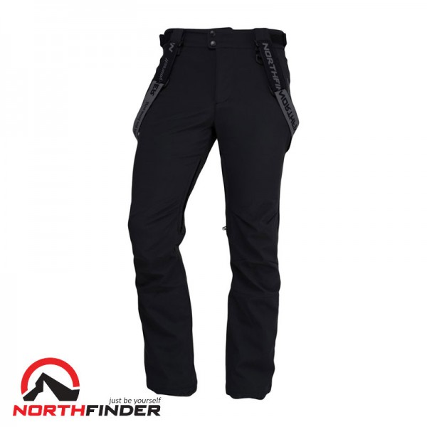 NORTHFINDER Мъжки Ски Панталони ISHAAN (NO-3468SNW) black